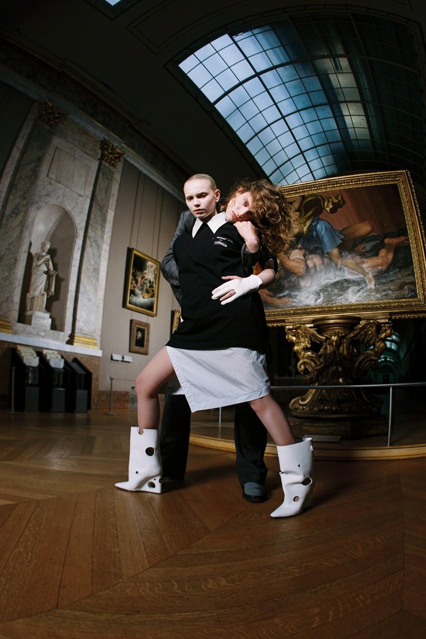 Off-White y el Museo de Louvre crearon una colección inspirada en la genialidad de Leonardo da Vinci