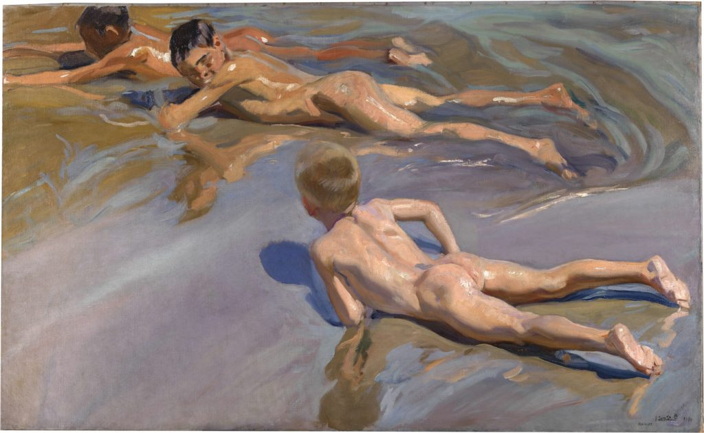 "Joaquín Sorolla ""Boys on the Beach"" (1909). Foto: Museo de Prado/Art Net"