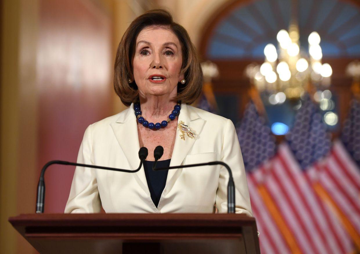 Estados Unidos: Nancy Pelosi anuncia que el Congreso redactará cargos de destitución contra Trump