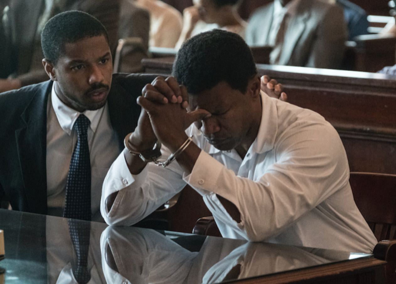 """Just Mercy"": Michael B. Jordan lucha por salvar a un preso de la pena de muerte"