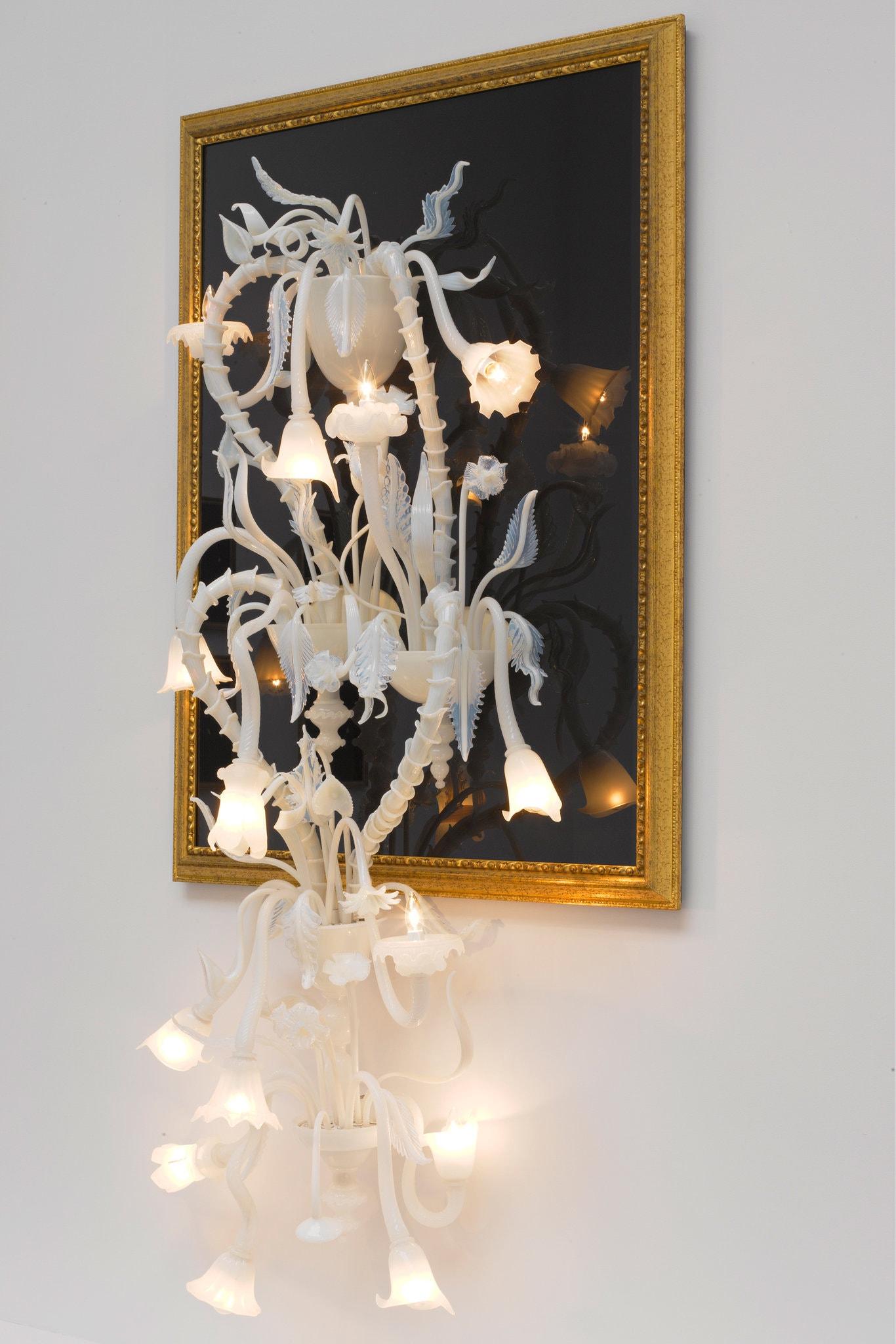 "Sala Longhi"". Fred Wilson (2011). Imagen. Fred Wilson, cortesía de Pace"