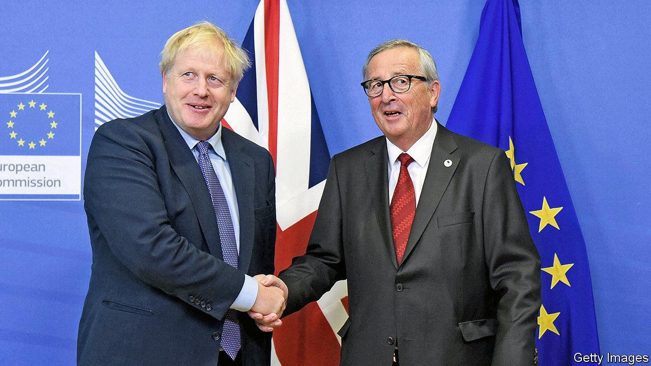 Aunque hay un acuerdo de salida, los británicos podrían aún terminar saliendo de la UE en caída libre. Fotografía: The Economist