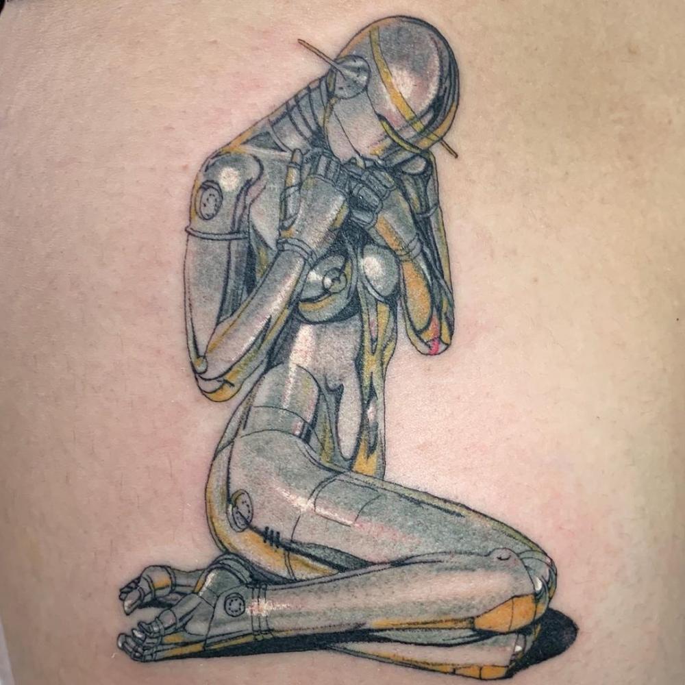 Conoce a Miki Kim, la artista que mezcla el arte tradicional japonés con psicodelia modernas para crear tatuajes surrealistas