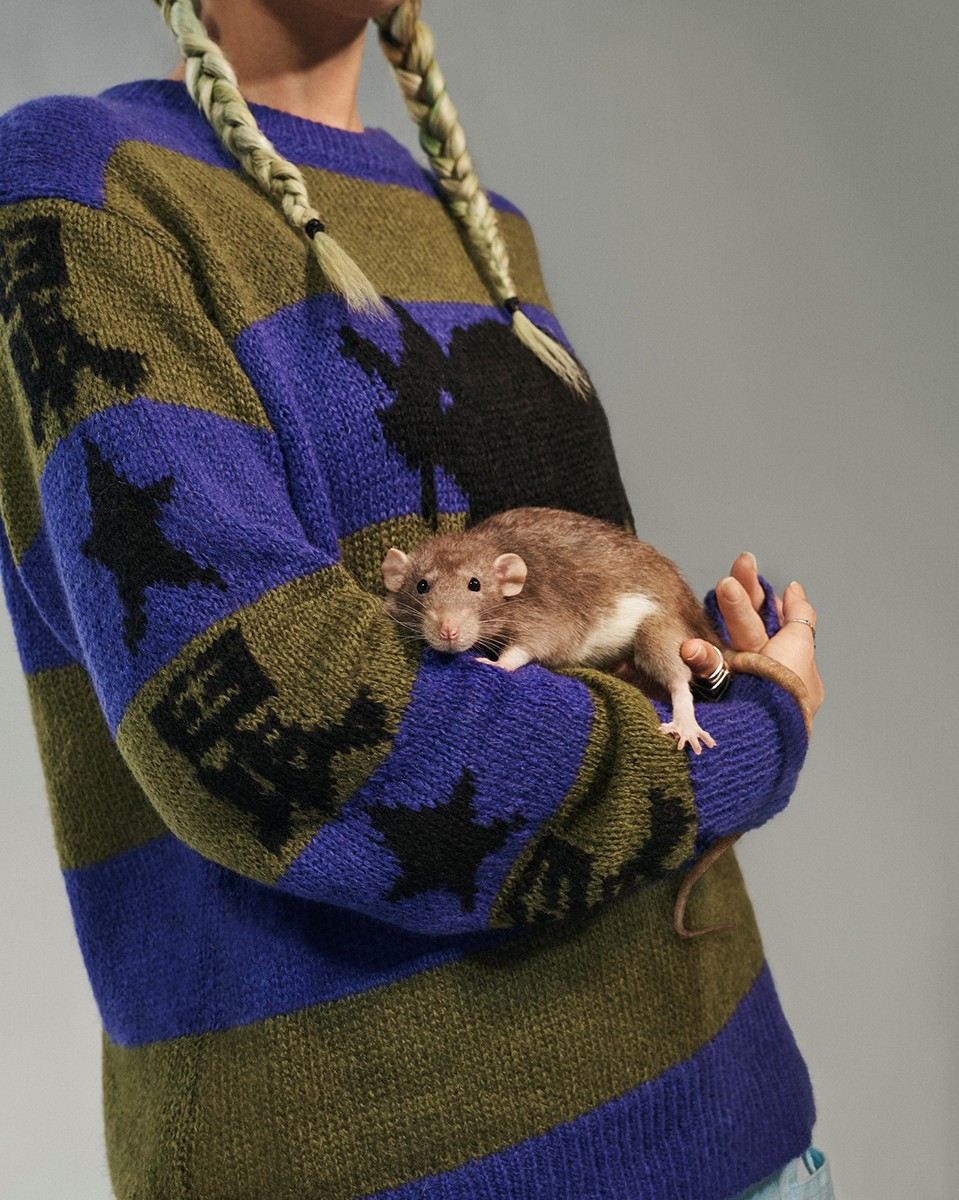 """Marc Jacobs x Stray Rats"". Imagen: Highsnobiety"