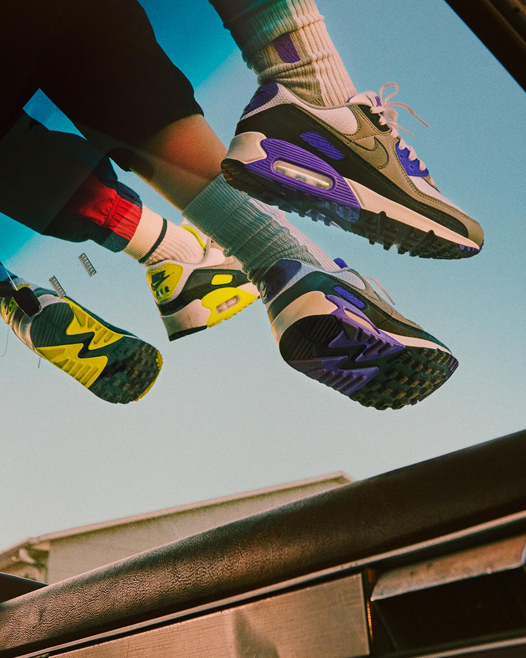 """Nike revive los """"Air Max 90"""" con un nuevo y atrevido modelo para celebrar 30 años de su lanzamiento"""