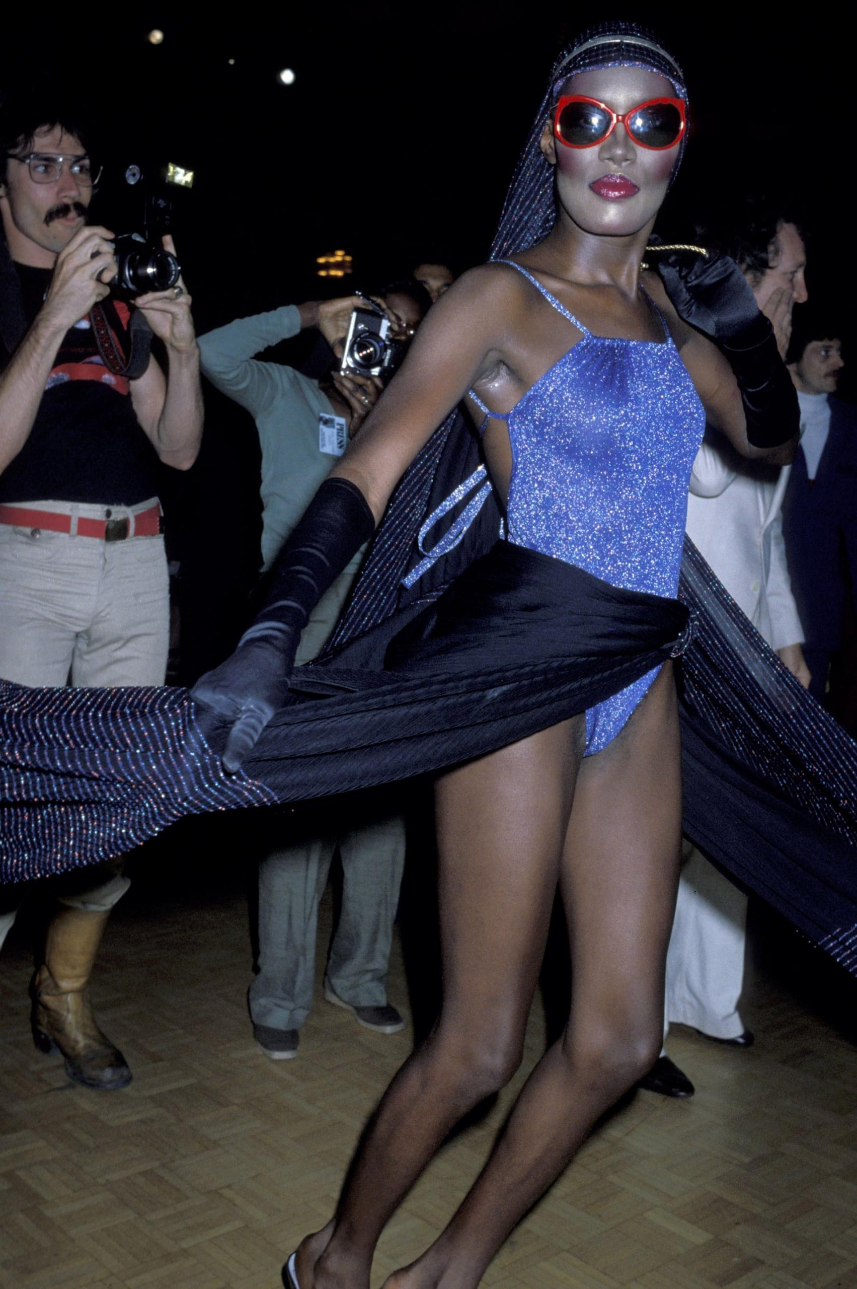 Grace Jones. Fotografía: Getty Images