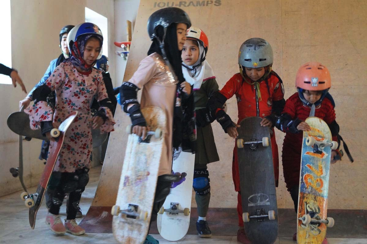 """Learning to Skateboard in a Warzone"", el documental ganador del Oscar que empodera a niñas en Afganistán"