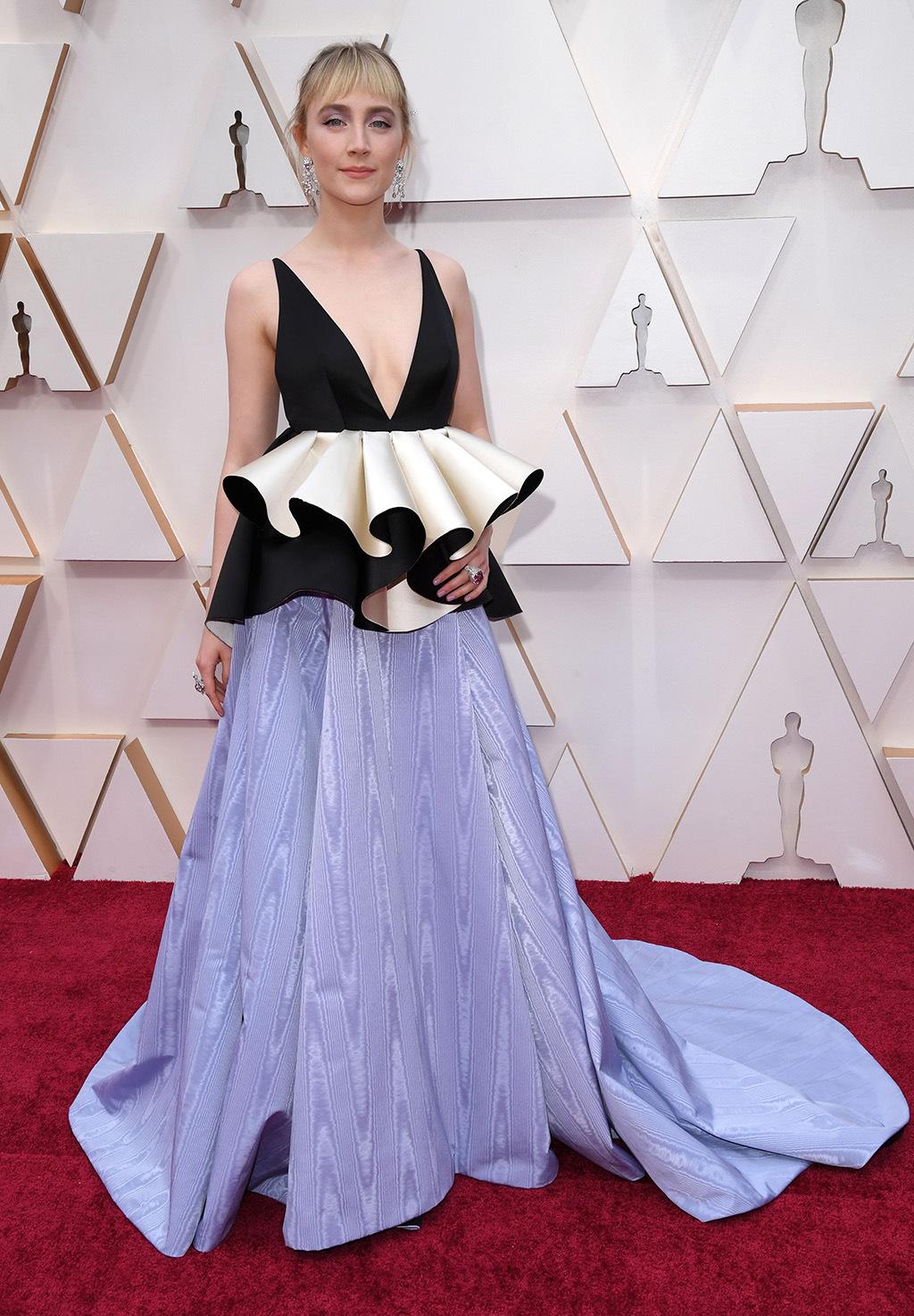 Saoirse Ronan en los Oscars 2020. Foto: Getty Images