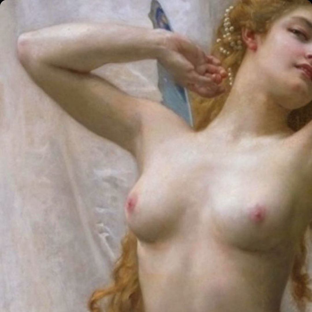 "Conoce a Ornella Rondinella, la artista italiana que desafía la censura de Instagram con su proyecto ""Tits From The Past"""