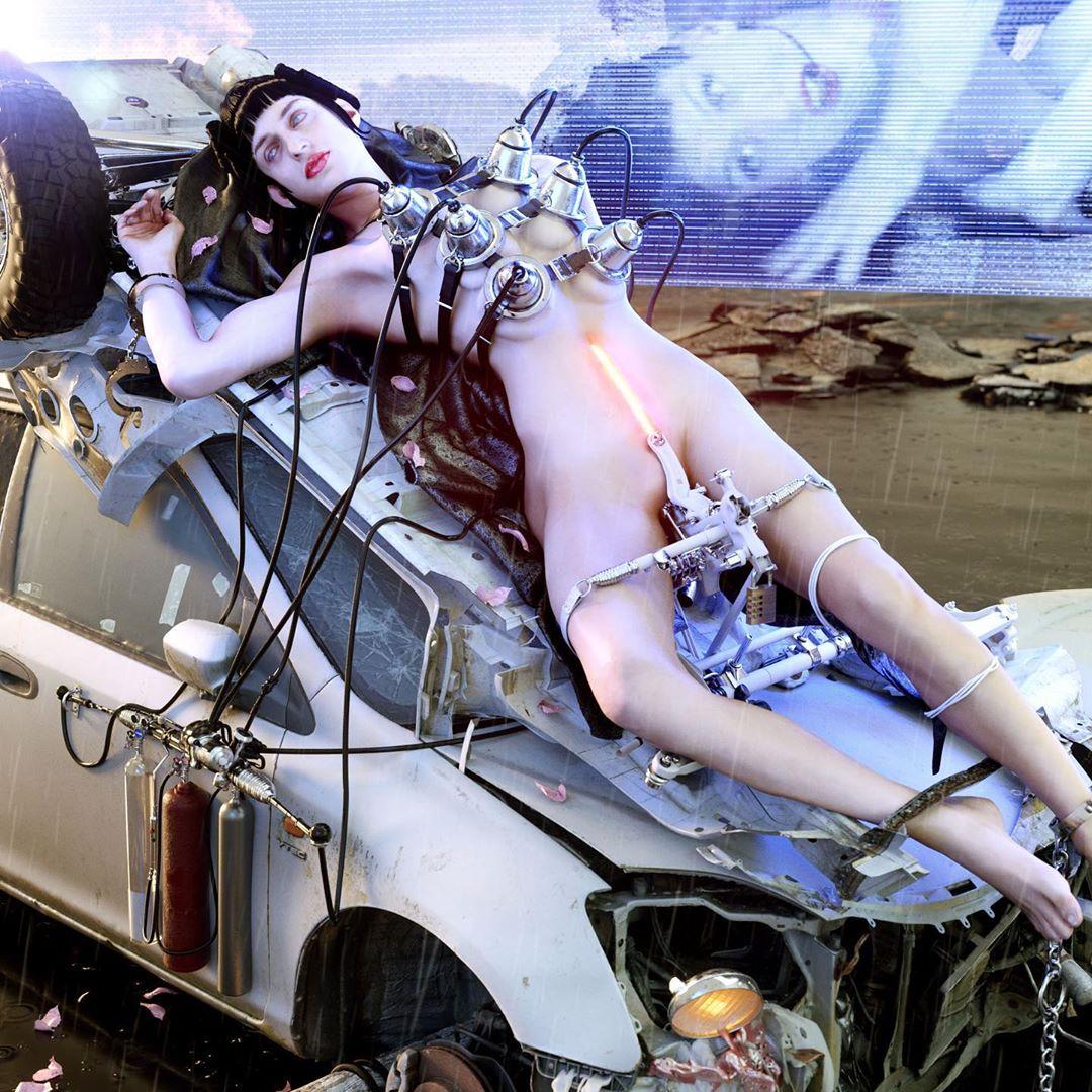 Conoce a Frederik Heyman, el artista que creó el mundo futurista del nuevo single de Arca