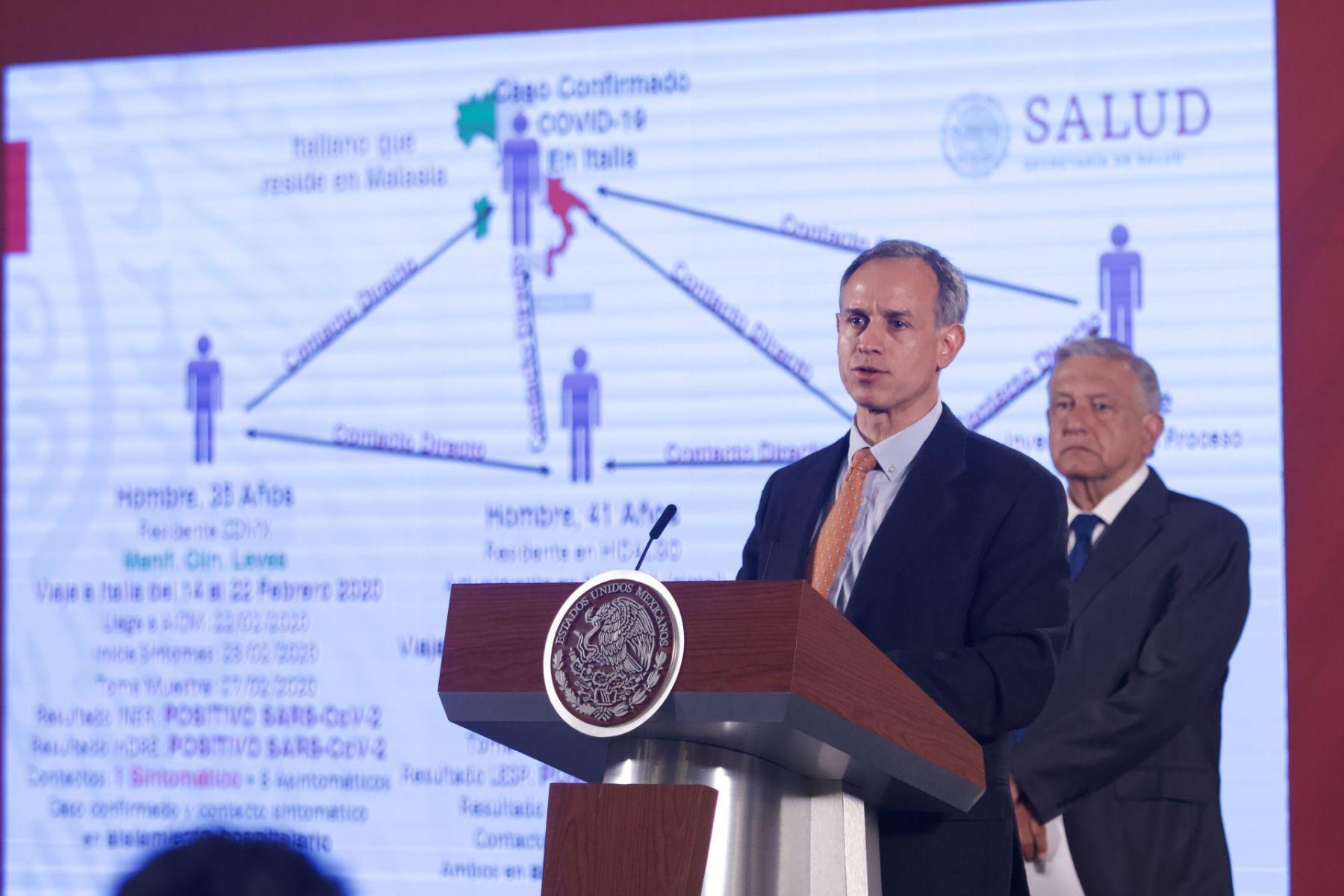 México confirma sus primeros 2 casos de coronavirus