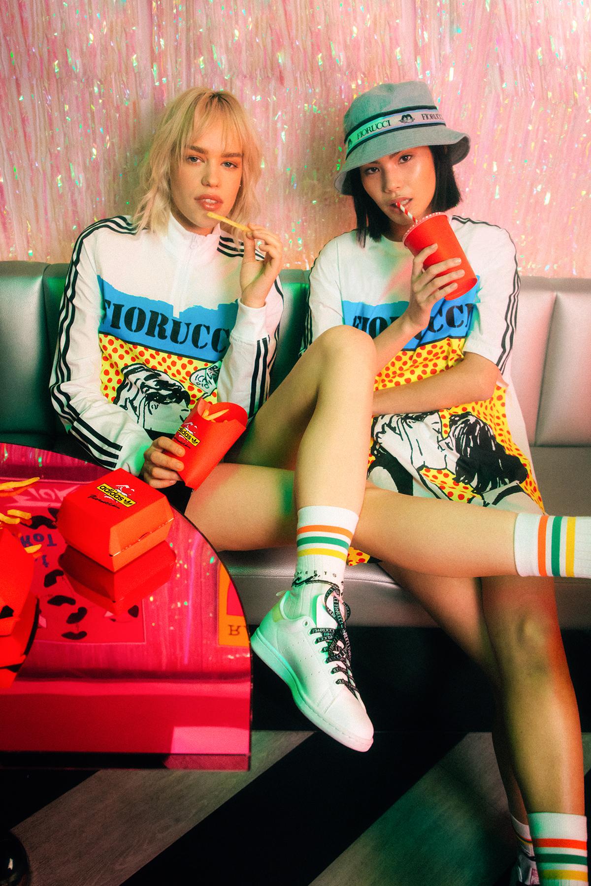 """""""Fiorucci x adidas"""". Imagen: Hypebae"""