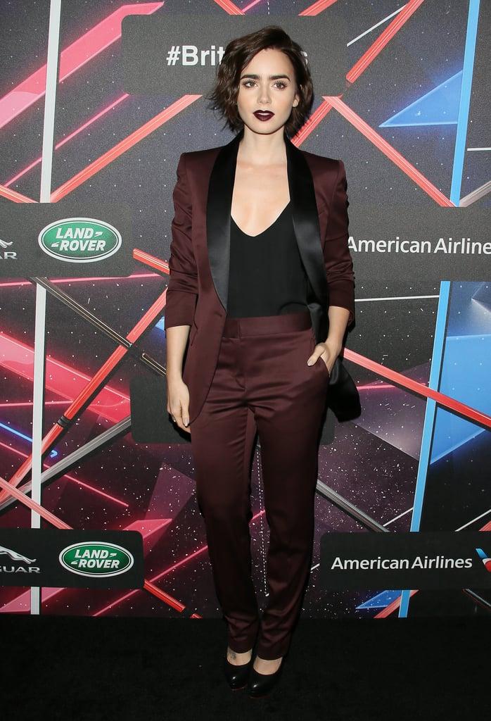 Lily Collins. Fotografía: Getty Images
