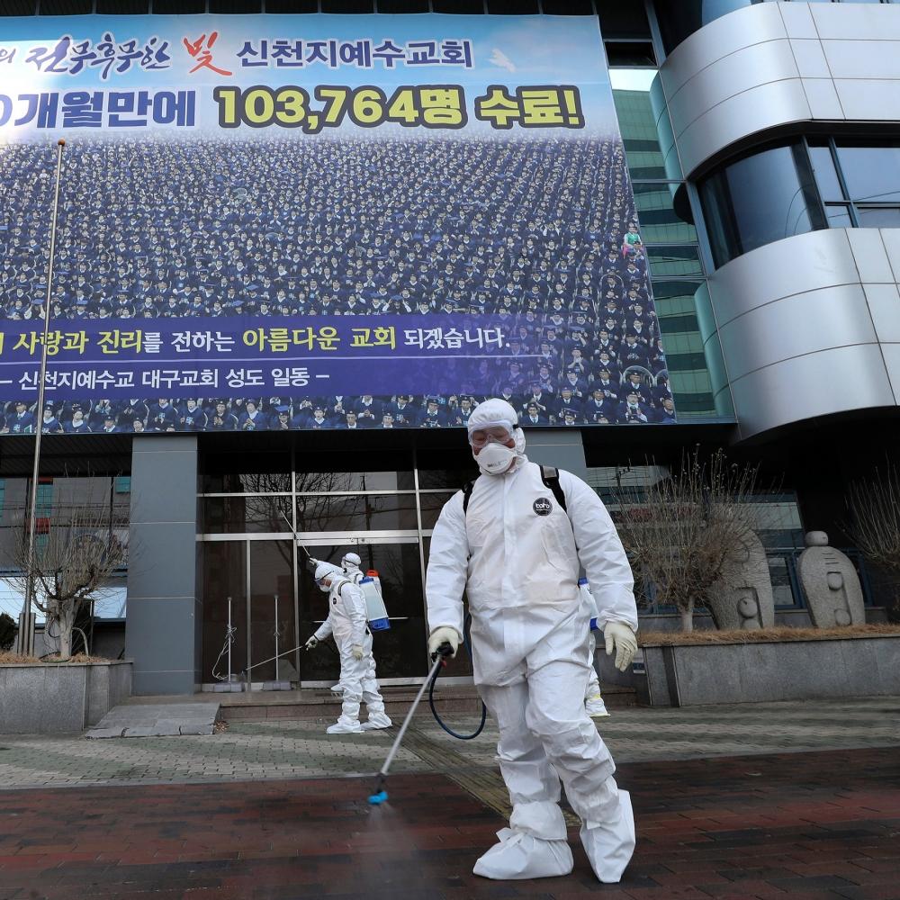 Coronavirus: Se duplican los casos en Corea del Sur mientras China desarrolla una vacuna