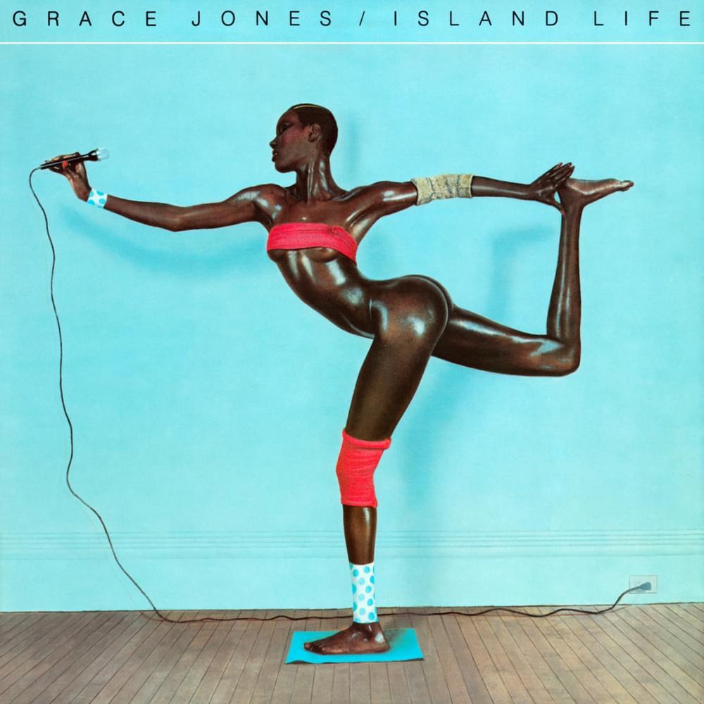 "Portada del álbum ""Island Life"" de Grace Jones. Fotografía: Jean-Paul Goude"