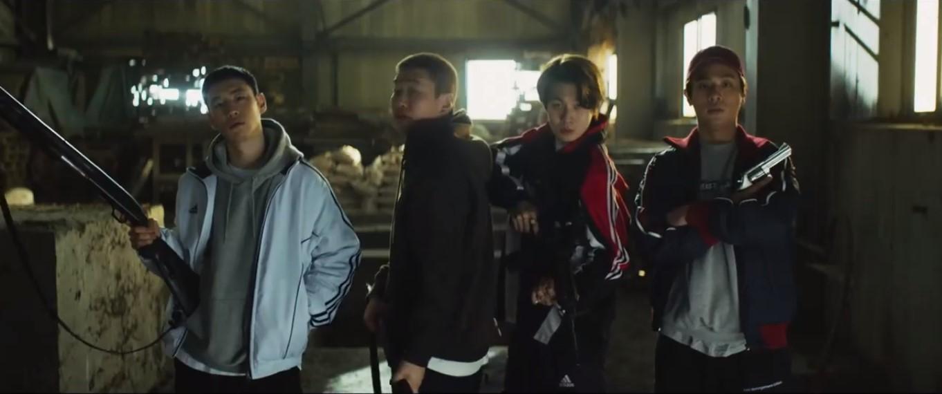 """""""Time To Hunt"""": El coreano Yoon Sung-hyun se trae un thriller distópico lleno de acción en este trailer"""