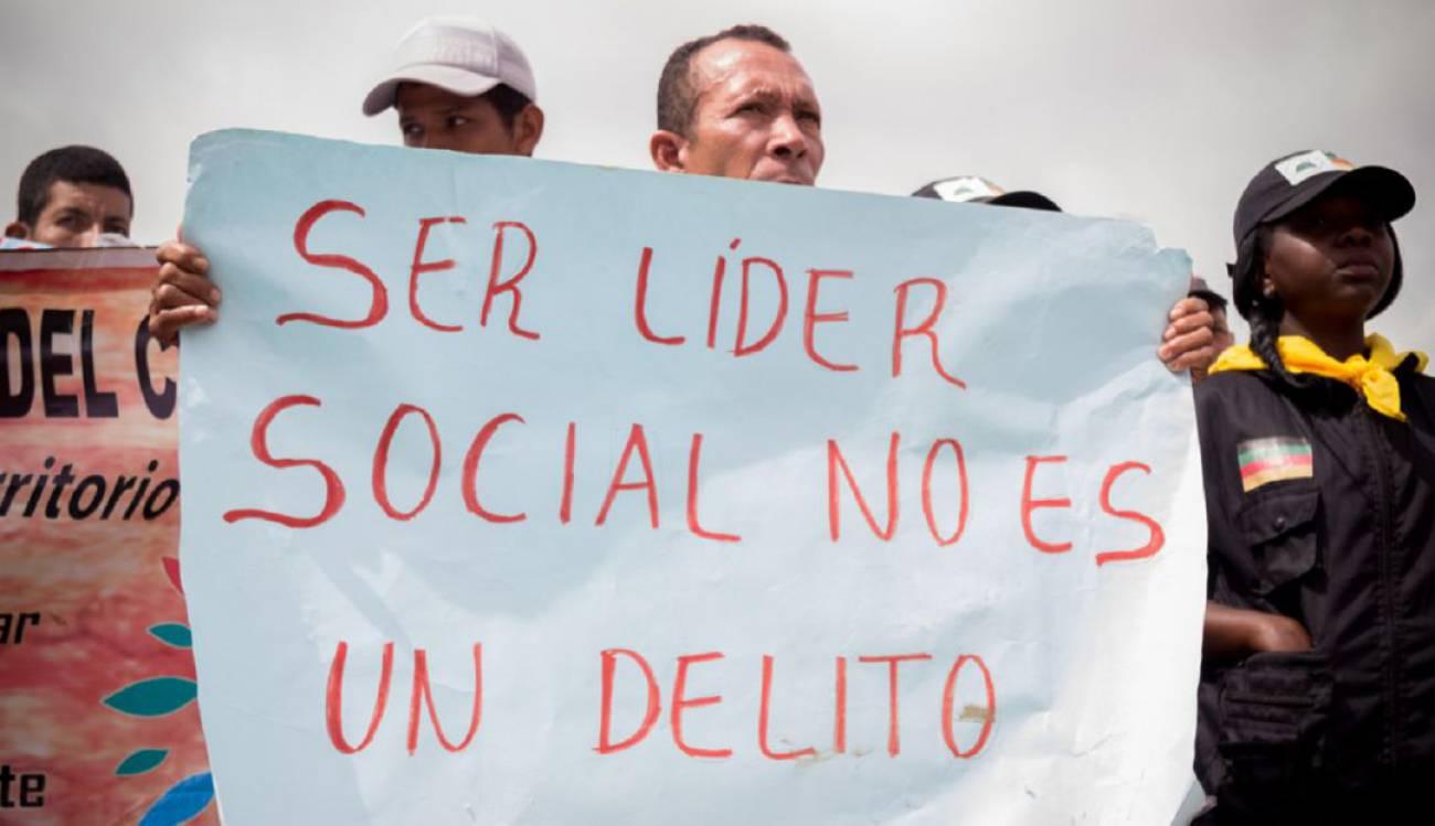 Colombia es el país en el que asesinan a más defensores de los derechos humanos en la región, según la ONU