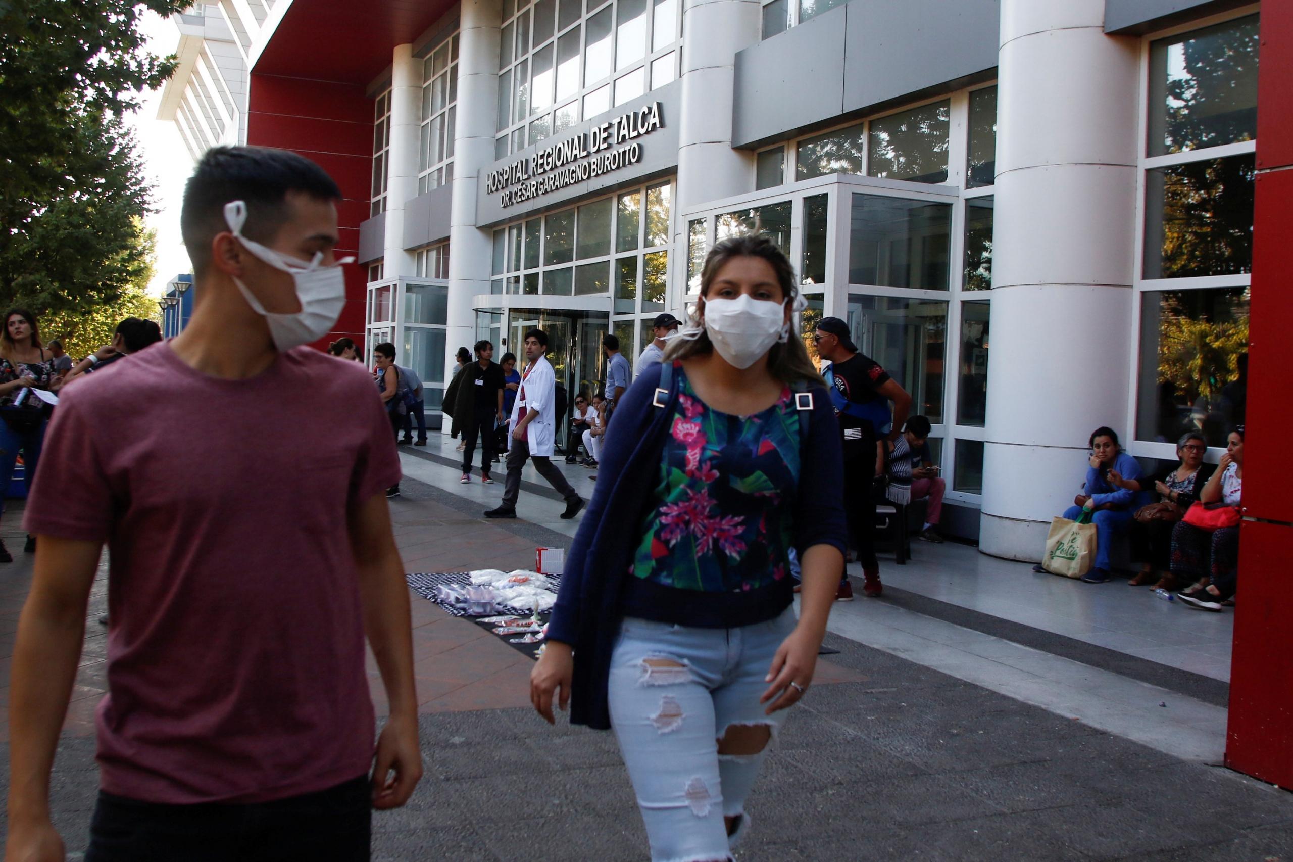Coronavirus: Chile ya tiene 5 casos; Perú confirma el primero del país