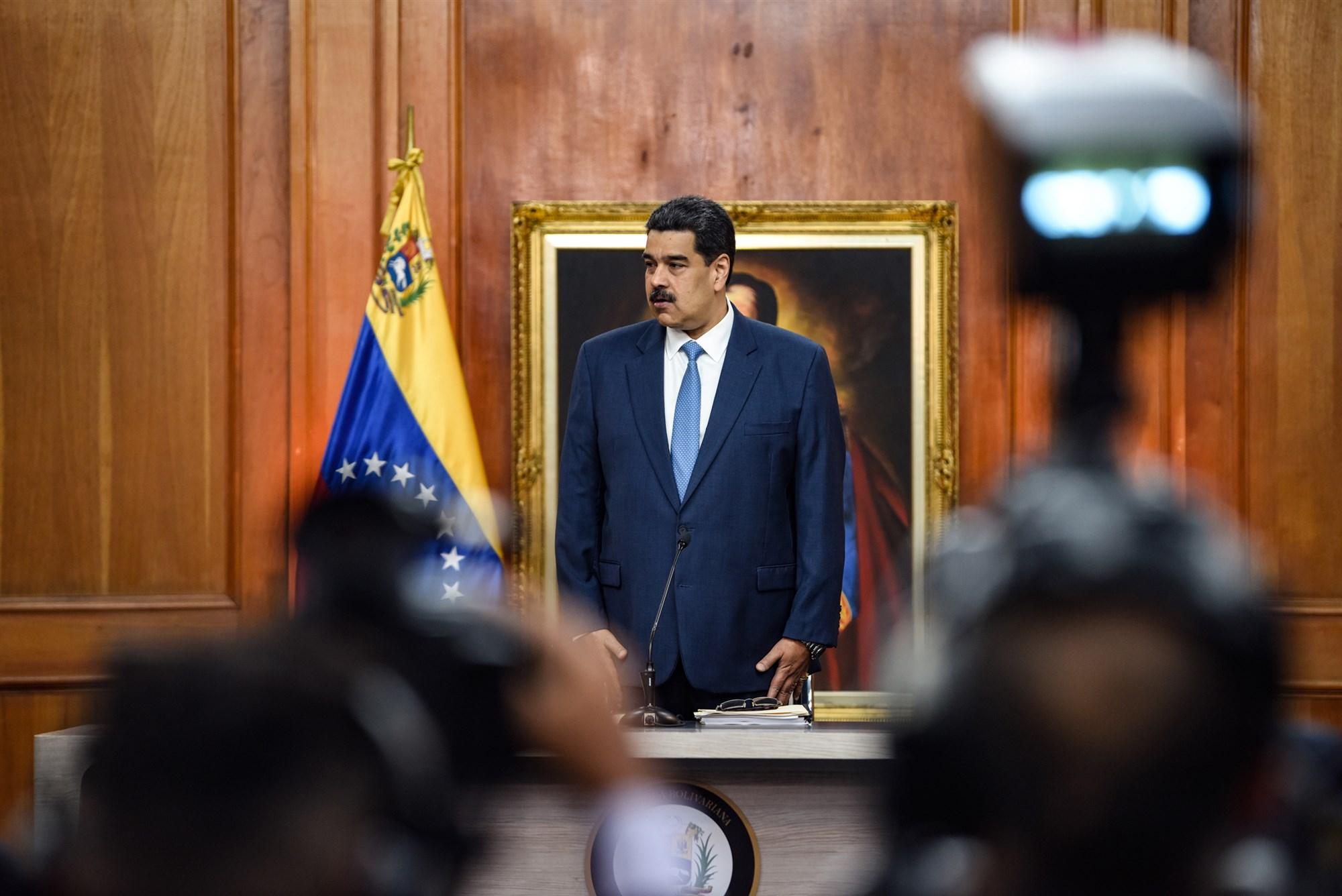 EE.UU. acusa a Maduro de narcoterrorismo y ofrece 15 millones de dólares por información que lleve a su captura