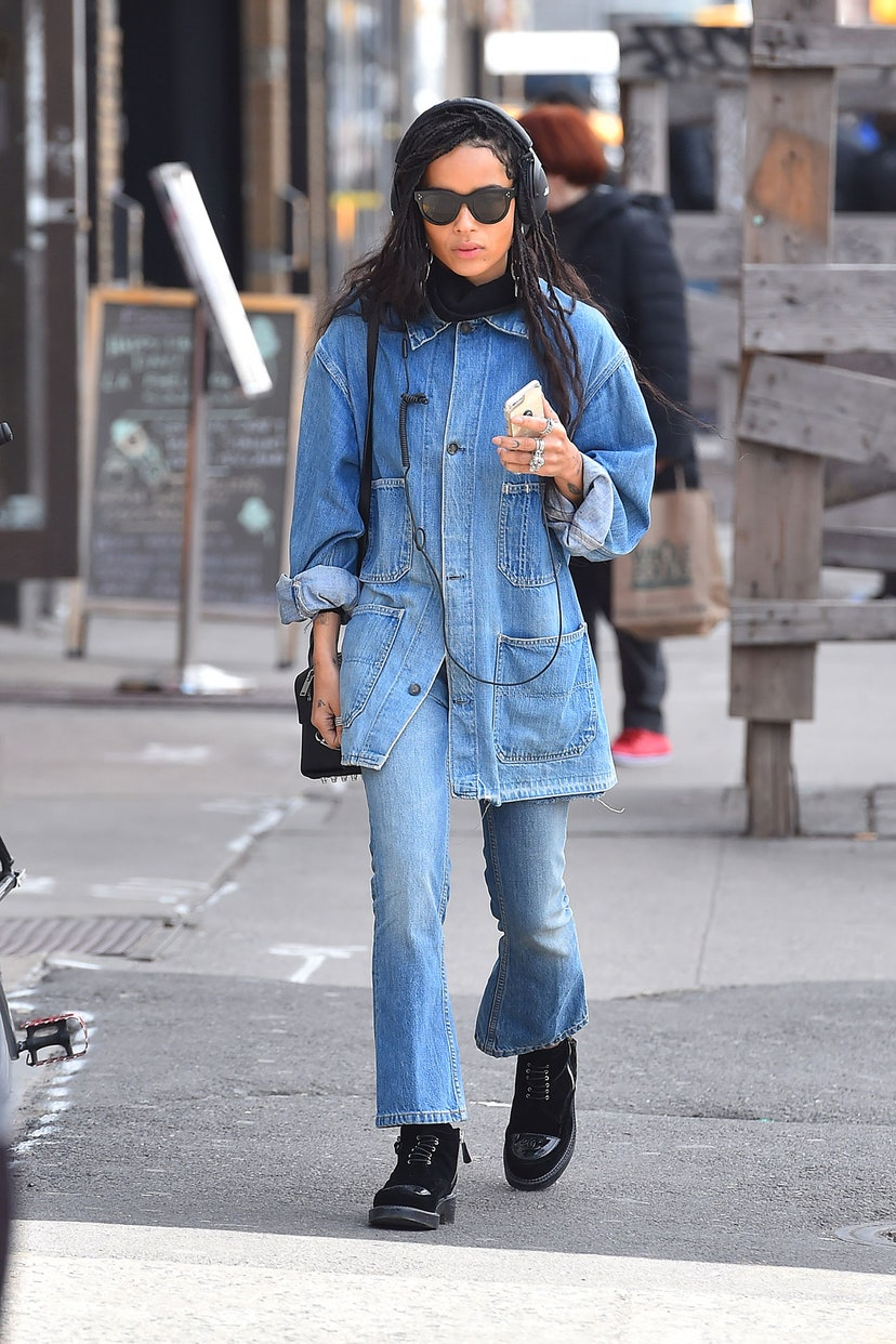 Zoë Kravitz in New York city. Photo: Getty Images
