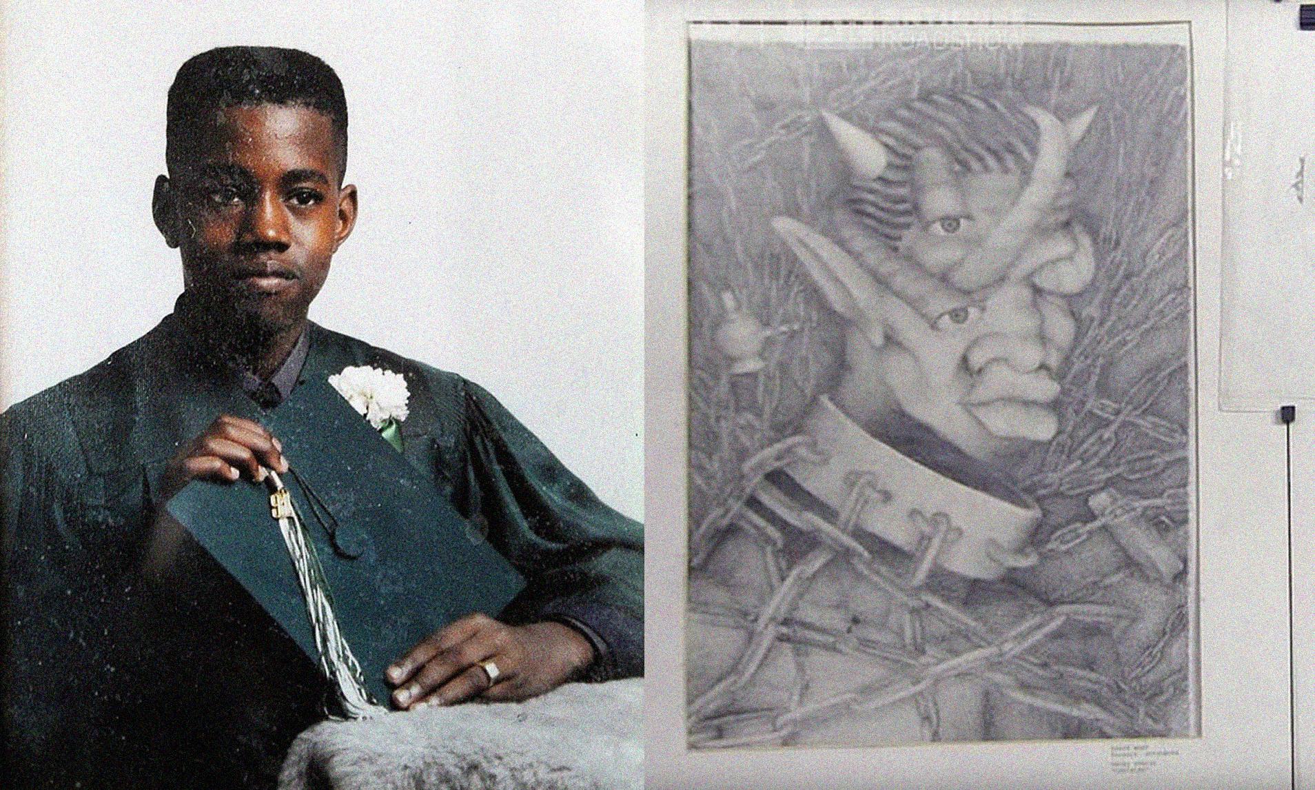 Así son las obras que Kanye West realizó a sus 17 años y están valoradas en 26.000 dólares