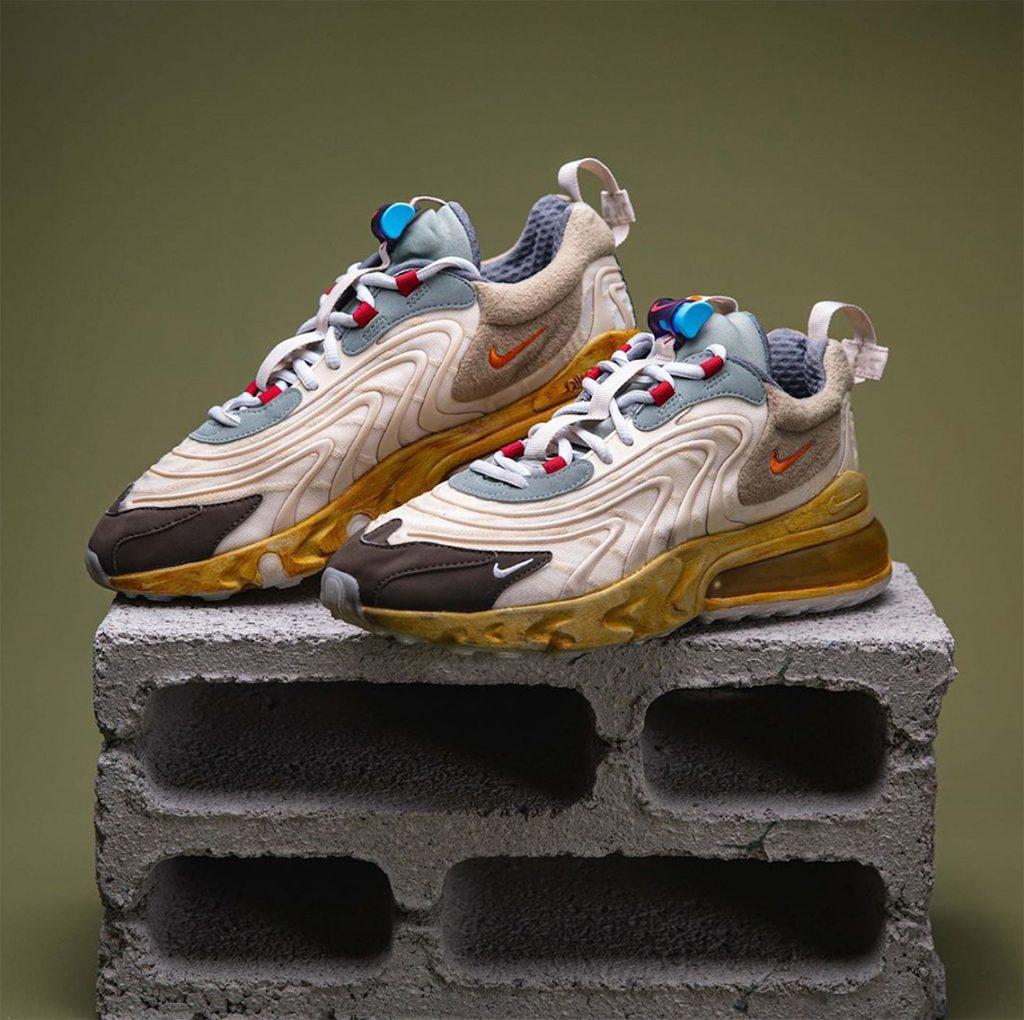 """Travis Scott y Nike se unen para crear la zapatilla vintage Air Max 270 """"Cactus Trails"""""""
