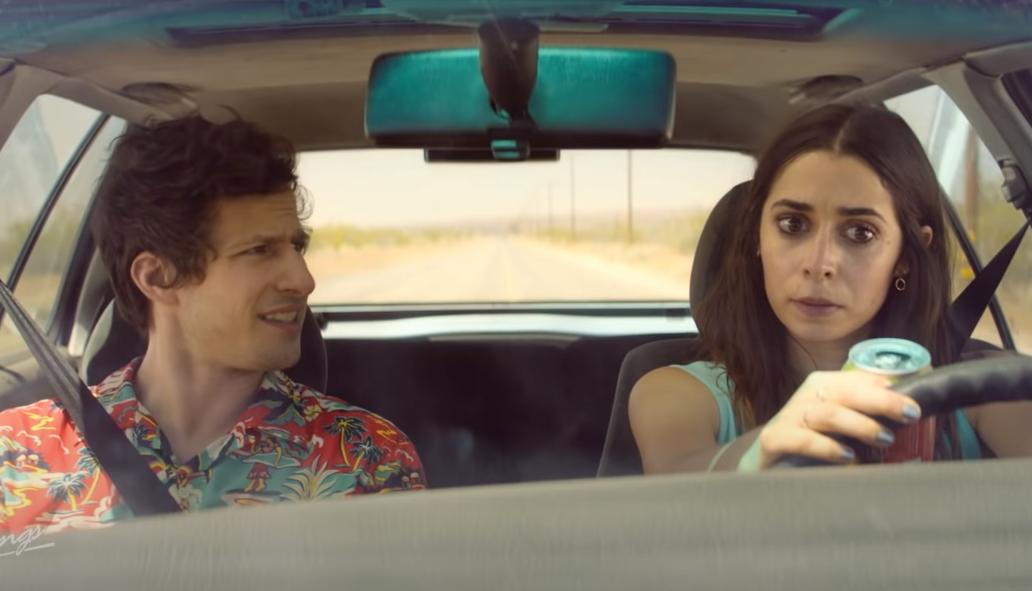 """""""Palm Springs"""": Andy Samberg y Cristin Milioti están atrapado en un bucle temporal en esta favorita de Sundance"""