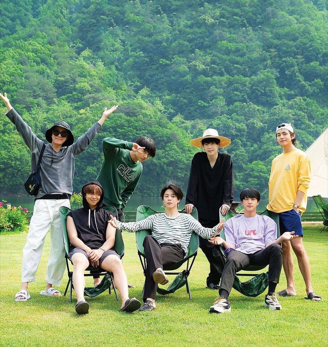BTS se sumergirá en la naturaleza para convivir en su nuevo reality show