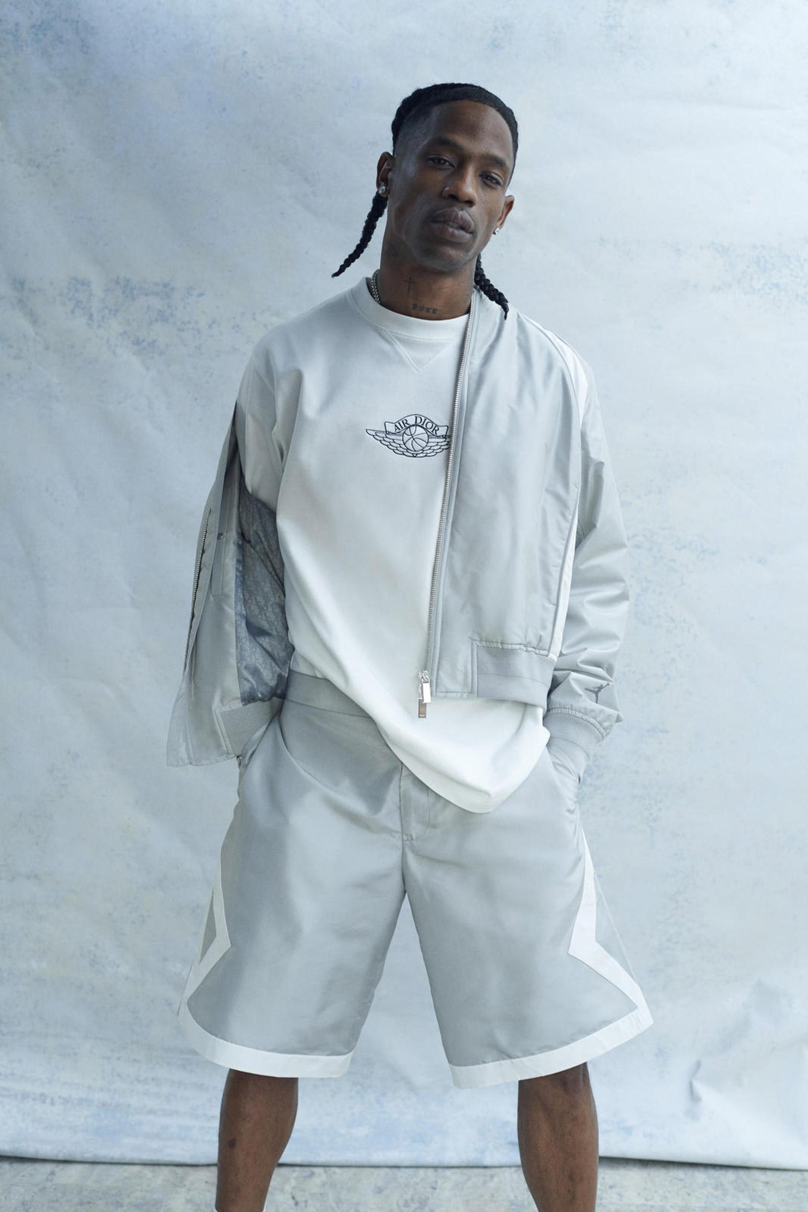 Travis Scott protagoniza el lookbook de la esperada colaboración Jordan Brand x Dior