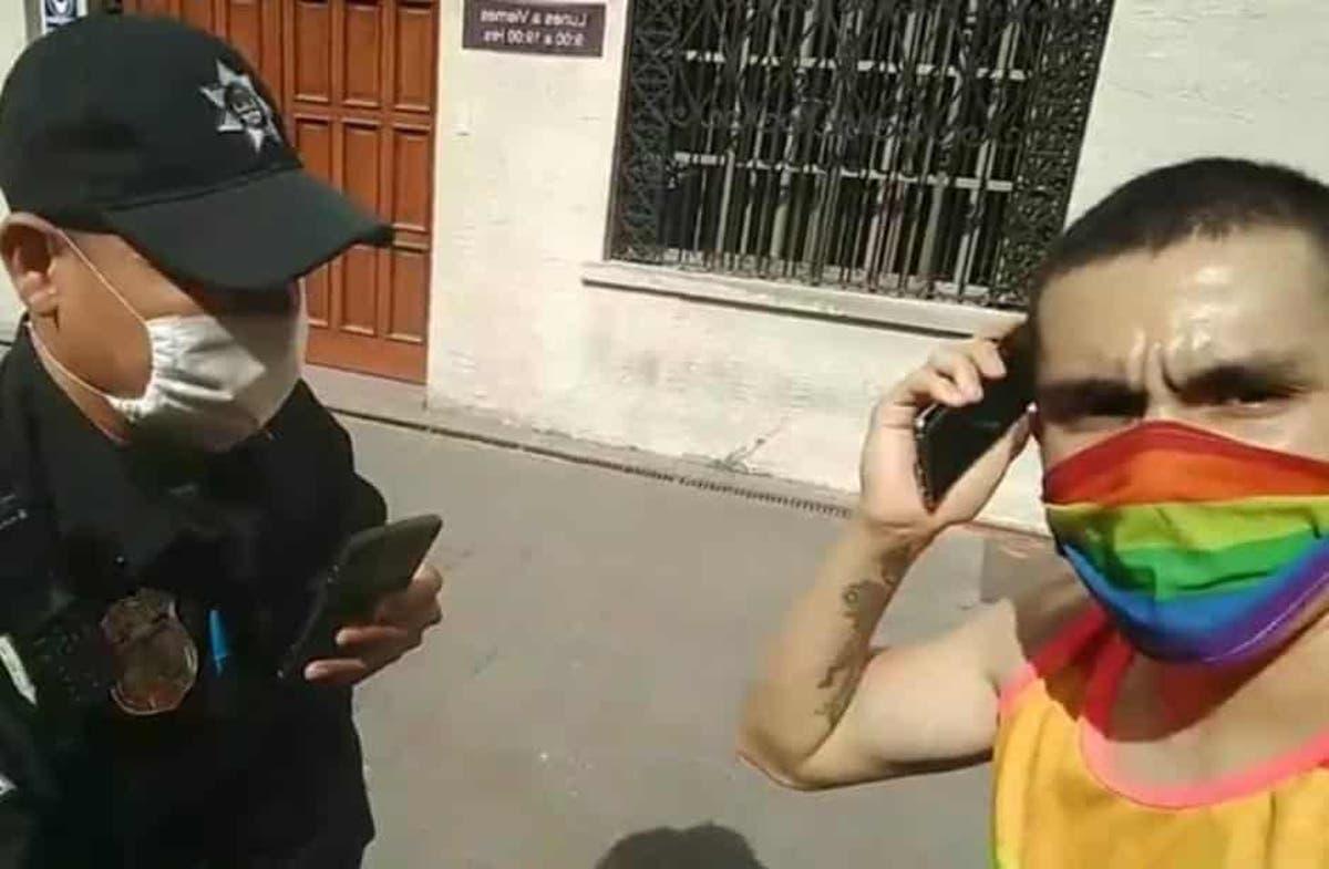 """Activista es detenido en Monterrey por denunciar video de la Arquidiócesis para """"curar la homosexualidad"""""""