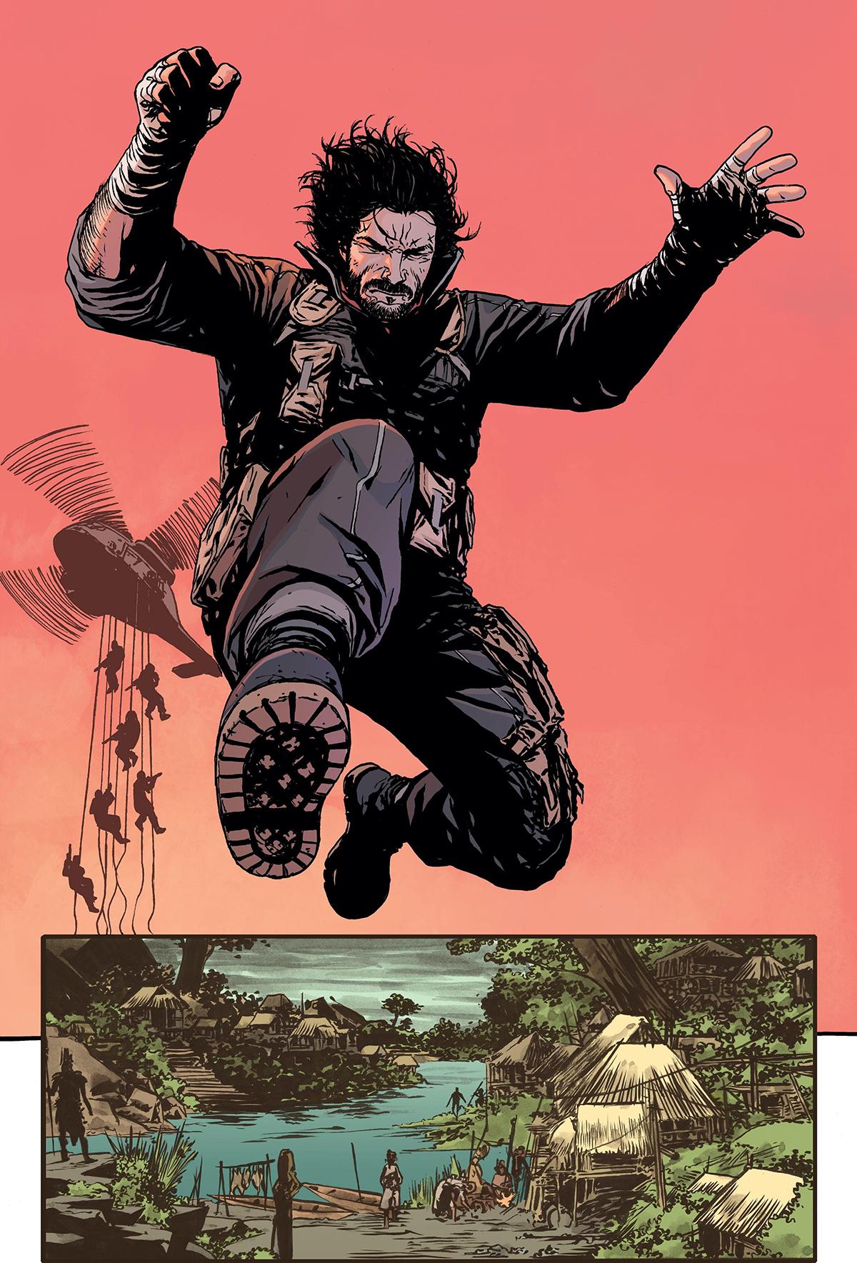 "Keanu Reeves publicará su primer cómic ""BRZRKR"""