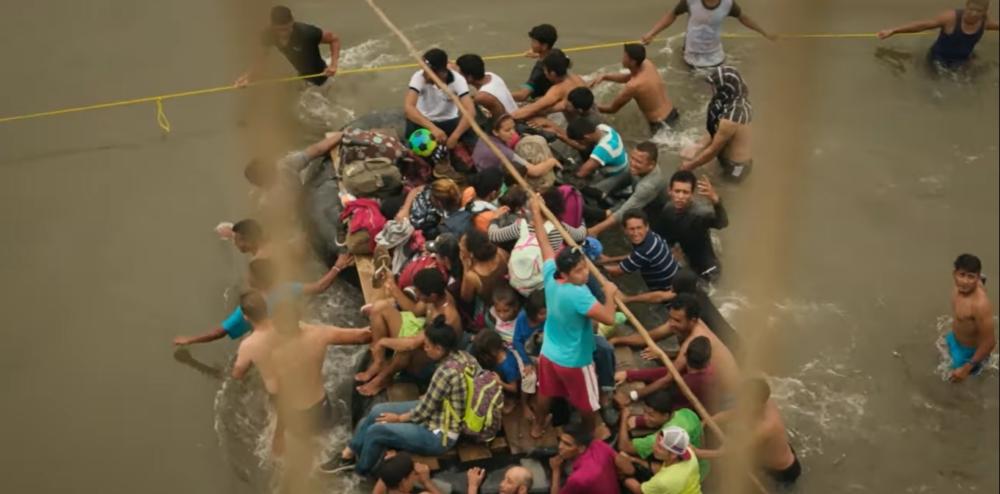 """""""Blood and the Wall"""" mostrará las realidades que enfrentan las caravanas de migrantes centroamericanos"""