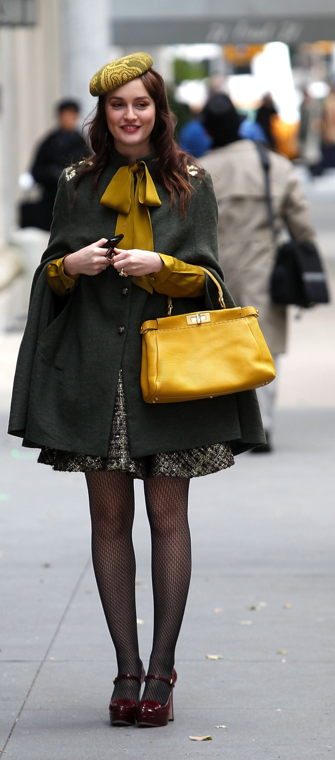 """Leighton Meester como Blair Waldorf en """"Gossip Girl"""". Fotografía: Getty"""