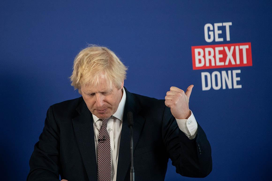 """Boris Johnson piensa """"anular"""" partes del acuerdo del Brexit con la Unión Europea"""