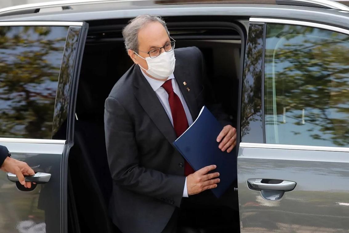 Tribunal Supremo de España inhabilita a Quim Torra, president de Cataluña