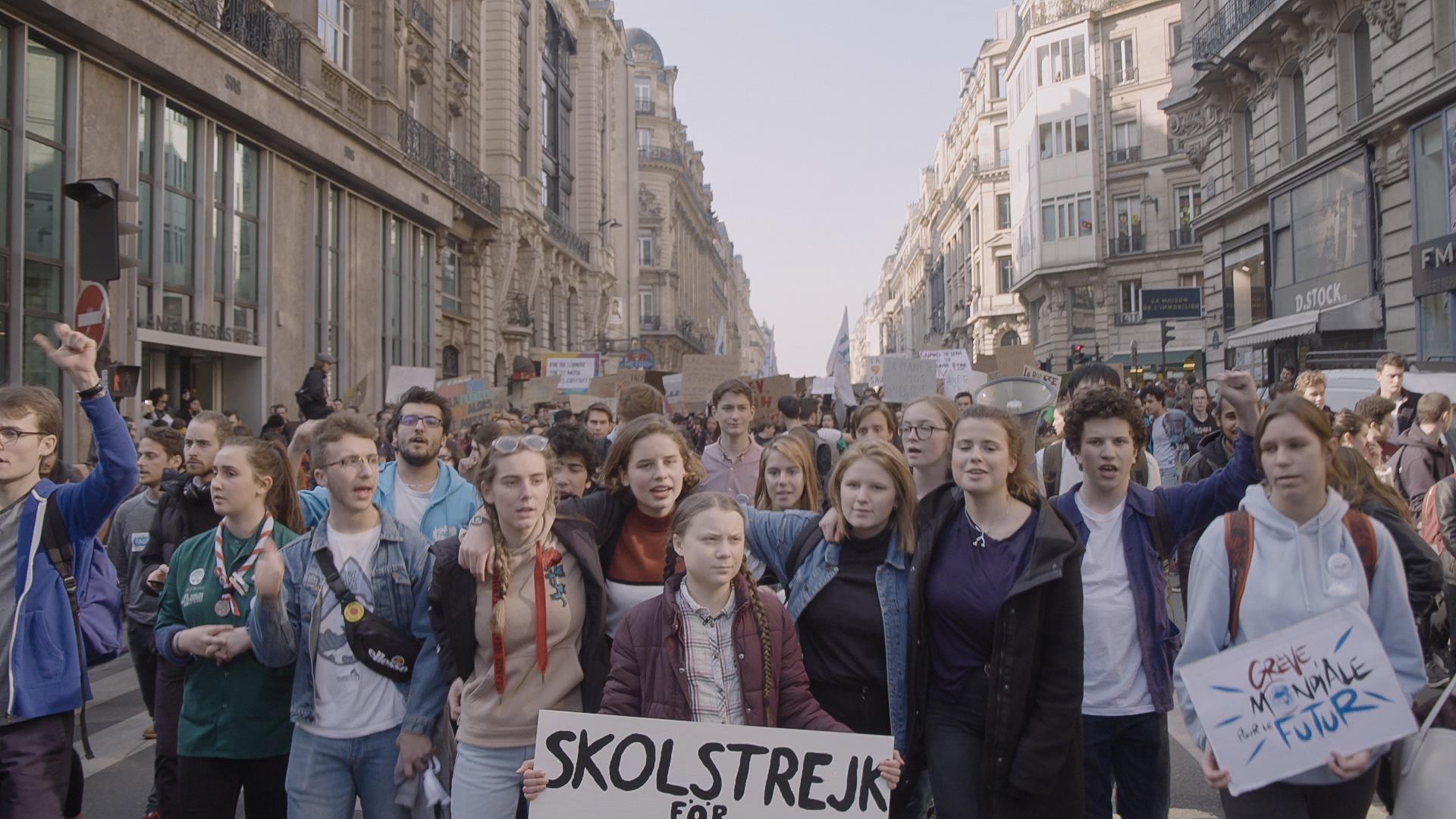 """""""I Am Greta"""": El nuevo documental de Hulu sigue a la activista adolescente Greta Thunberg alrededor del mundo"""