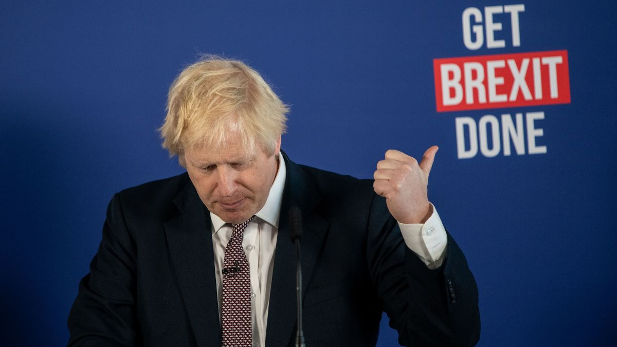 """Boris Johnson urge al Reino Unido """"prepararse"""" para un Brexit sin acuerdo"""