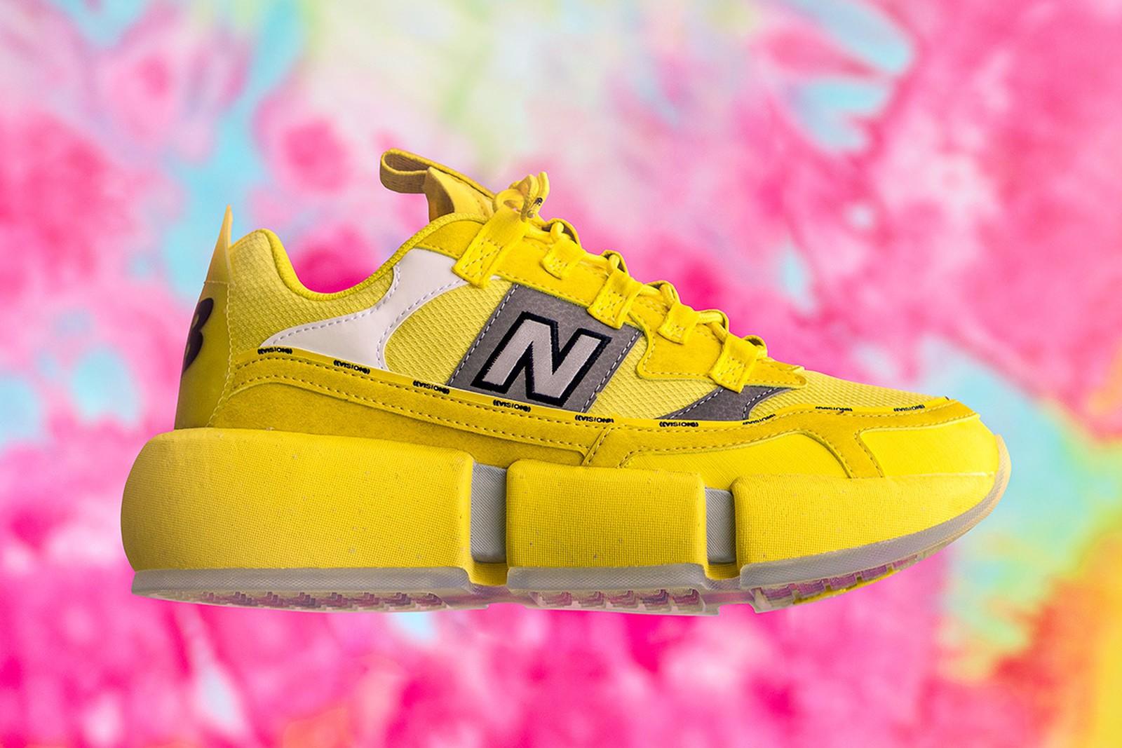 Jaden Smith x New Balance: Las zapatillas veganas Vision Racer llegan en un nuevo y llamativo tono