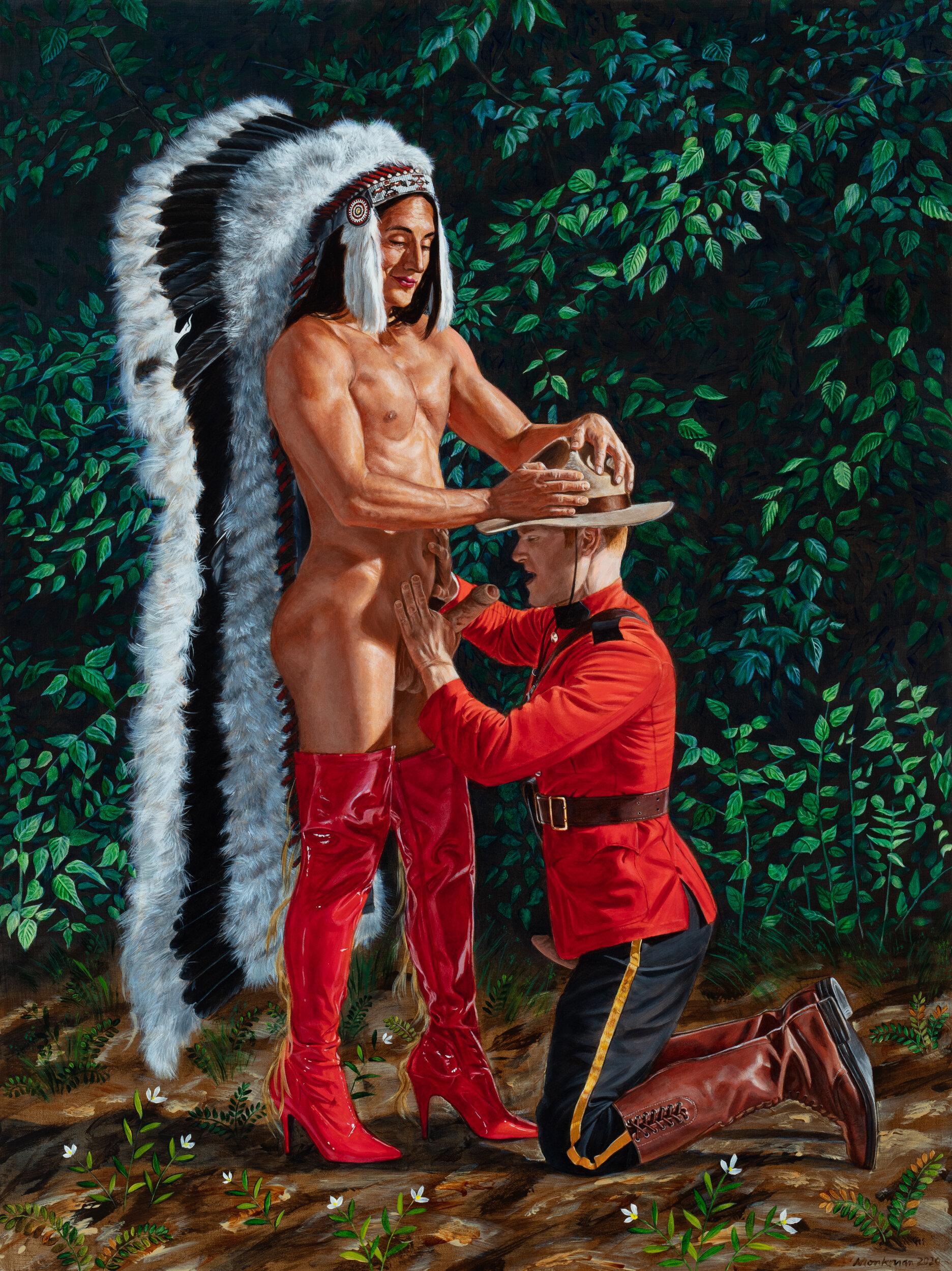 Conoce a Kent Monkman, el provocador artista que reta la visión colonial del arte con la experiencia indígena