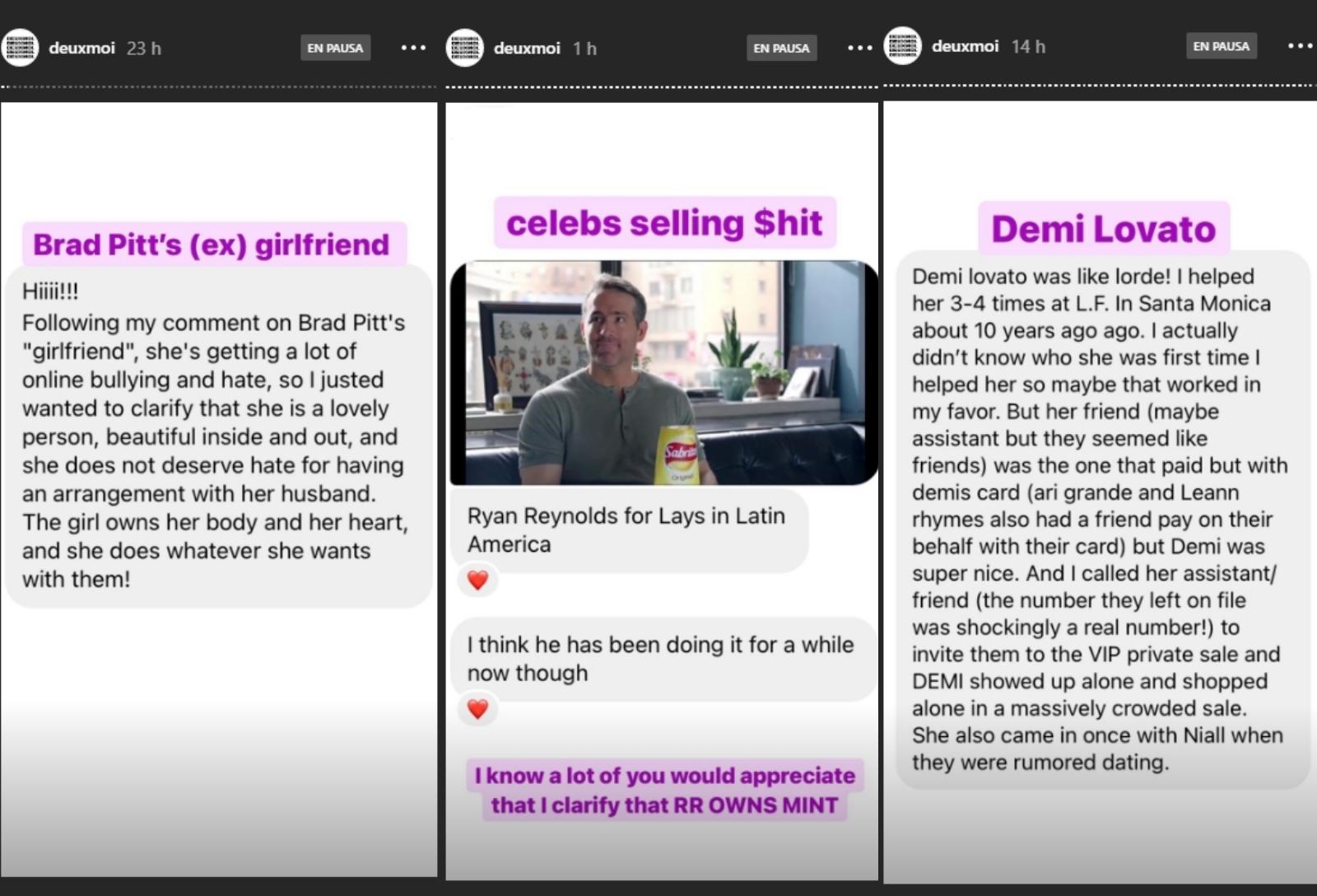 ¿Por qué la Internet está adicta a DeuxMoi, la cuenta secreta de Instagram sobre chismes de Hollywood?
