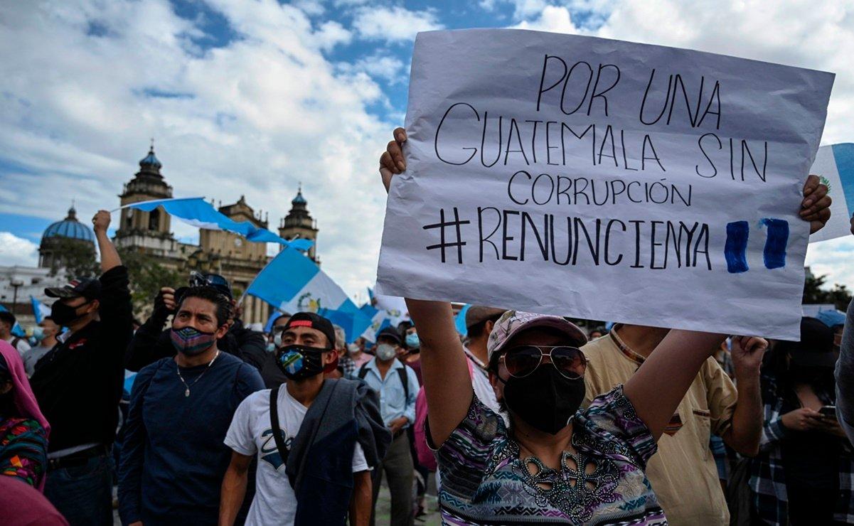 Guatemala: Continúan las protestas para exigir la renuncia del presidente Alejandro Giammatei y su gabinete