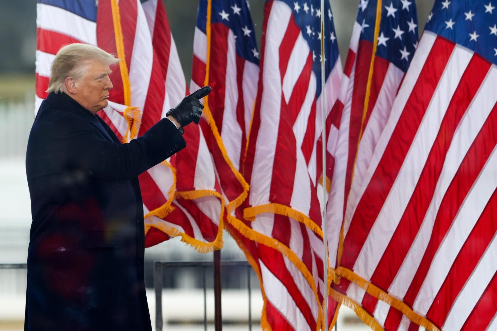 EE.UU.: Donald Trump se enfrenta a la vergüenza de un nuevo juicio político a nueve días de dejar la Casa Blanca