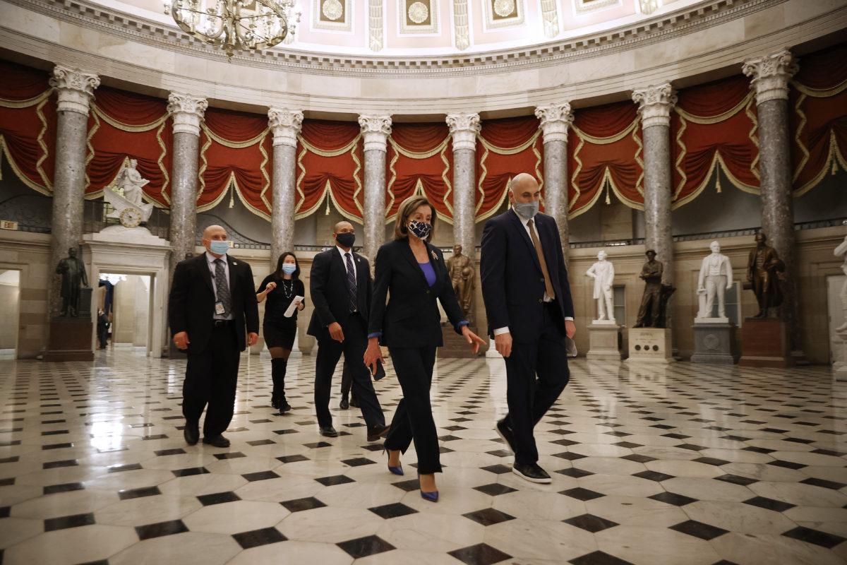 """Cámara de representantes de EE.UU. alcanza suficientes votos para impugnar a Trump por """"incitar una insurrección"""""""