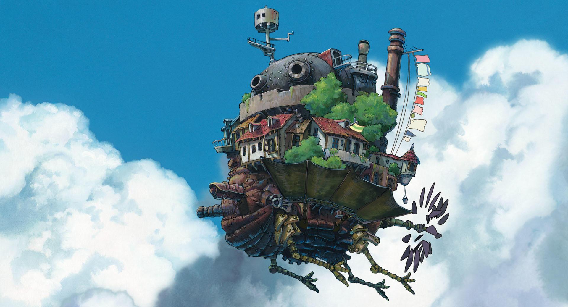 """Así se verá el castillo de """"Howl's Moving Castle"""" en el parque temático de Studio Ghibli"""