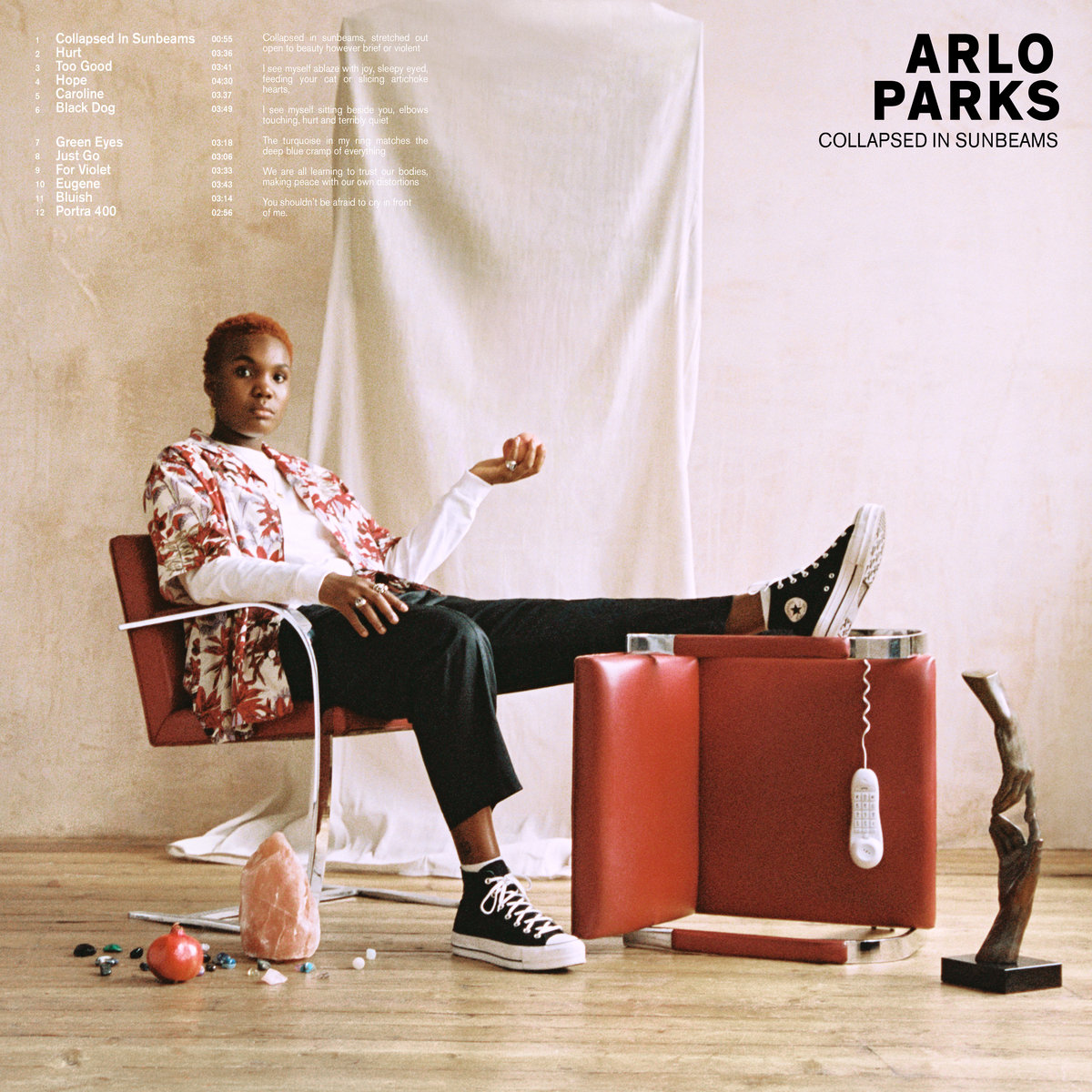 "Track by Track: Arlo Parks, ""Collapsed in Sunbeams"""