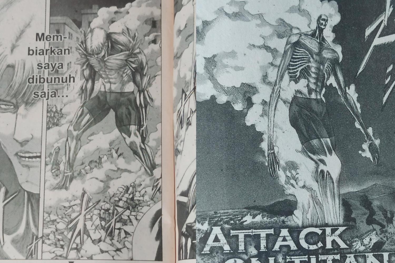 Una muestra de la censura del manga en Malasia. Fotografía: @WallyyTheGreat/ Twitter