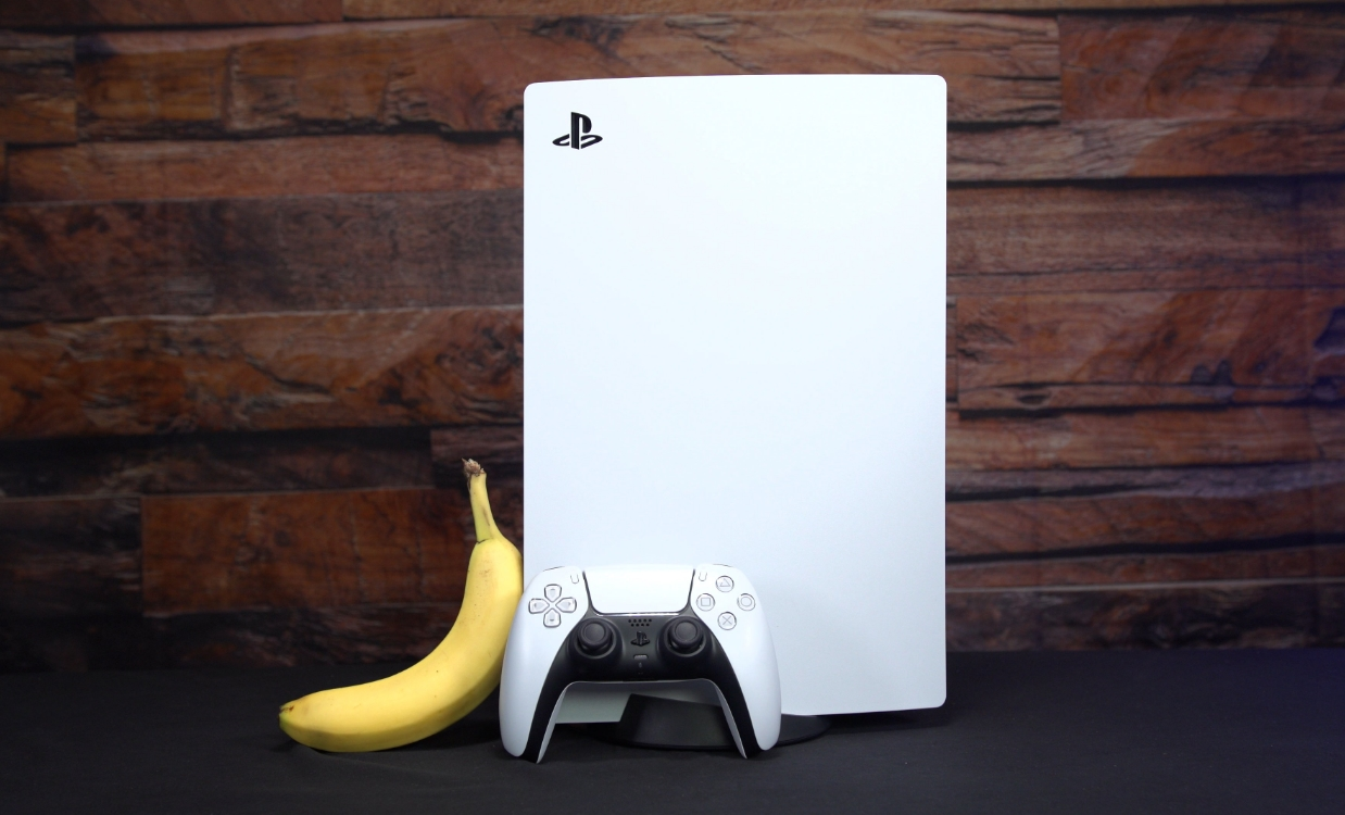 Sony patenta tecnología que podría convertir bananas en un control de PlayStation 5