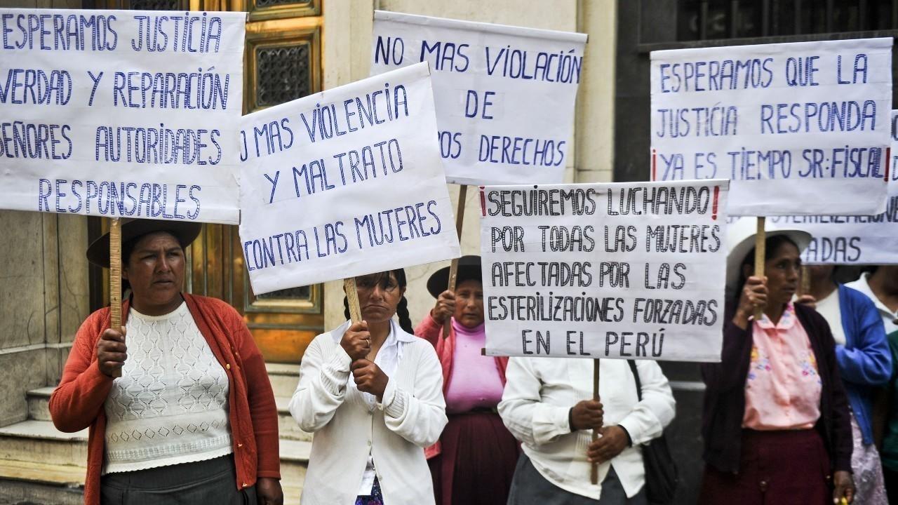"""Perú: Inicia juicio en contra de Alberto Fujimori por """"esterilizaciones obligatorias"""" durante su mandato """"para reducir la pobreza"""""""