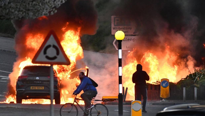 Irlanda del Norte vive una semana de disturbios entre unionistas y republicanos