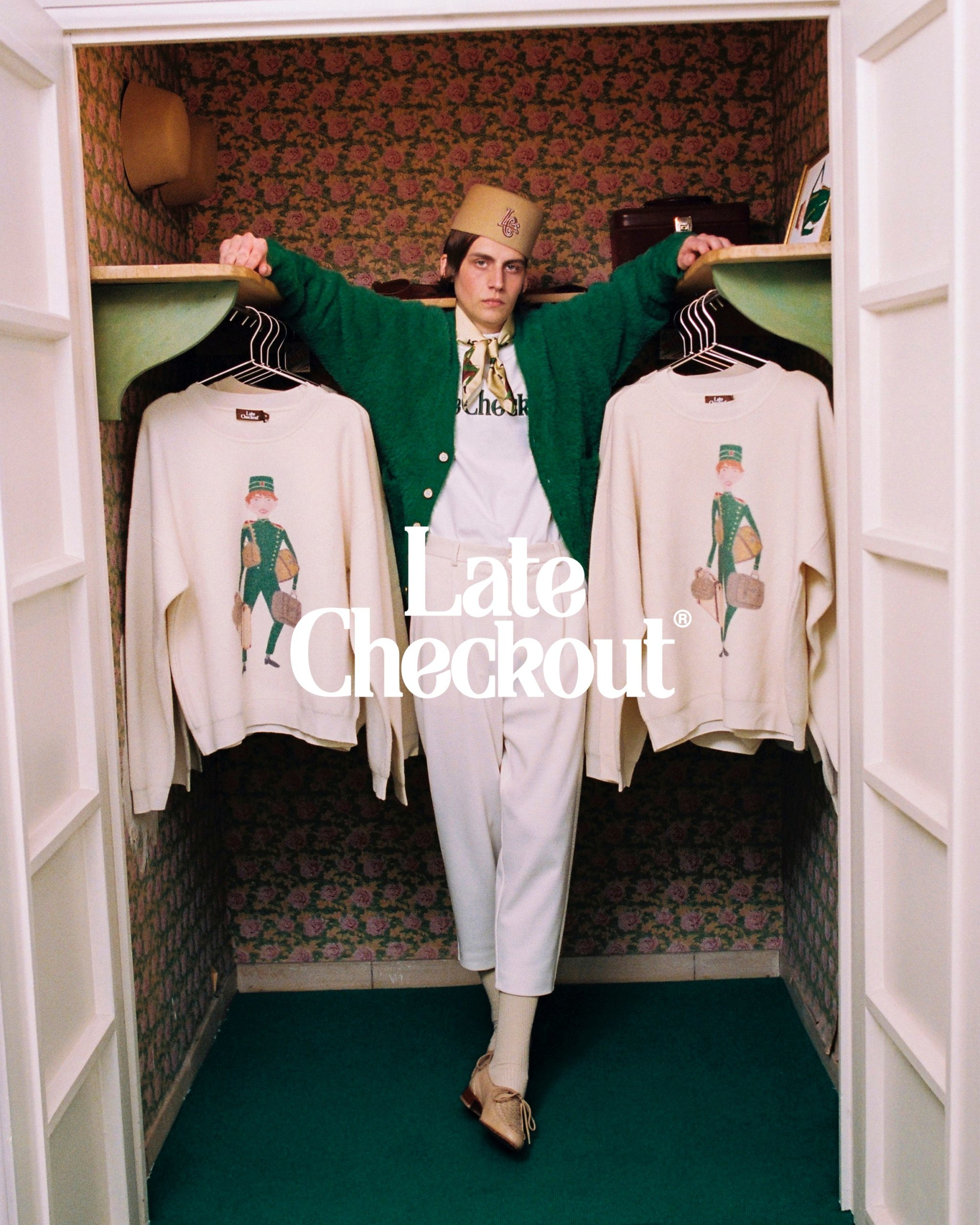"C Tangana se inspira en ""The Grand Budapest Hotel"" para su nueva línea de ropa, Late Checkout"